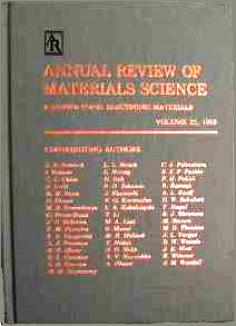 Annual Review of Materials Science Series