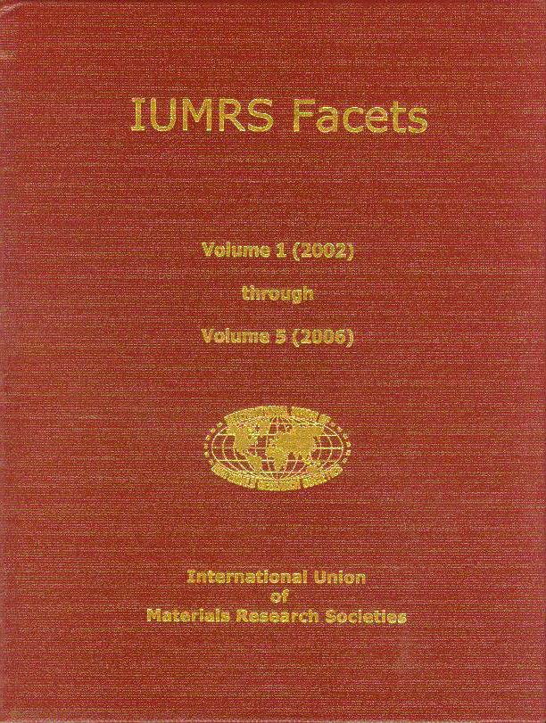 IUMRS Facets – Compendium