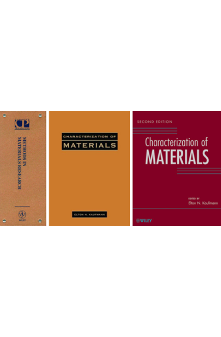 Methods in Materials Research : Characterization of Materials 1st (2 volumes) and 2nd (3 volumes) Editions