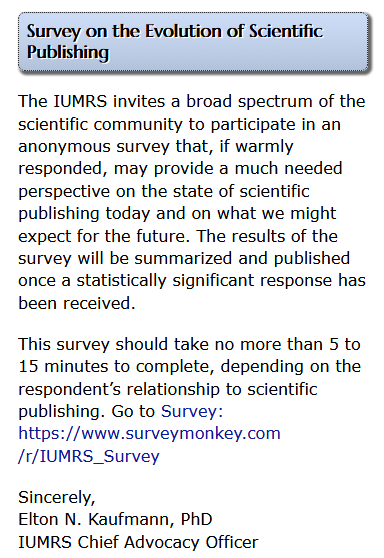 Survey Invitation (typical)