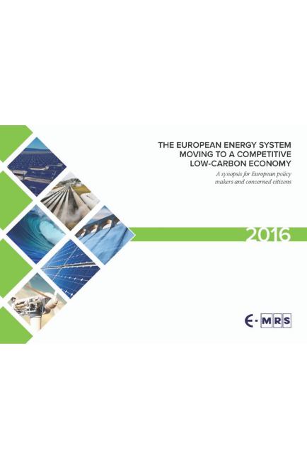 The European Energy System… 2016